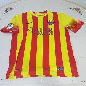 Qatar Airways-Nike LFP Soccer Jersey-M